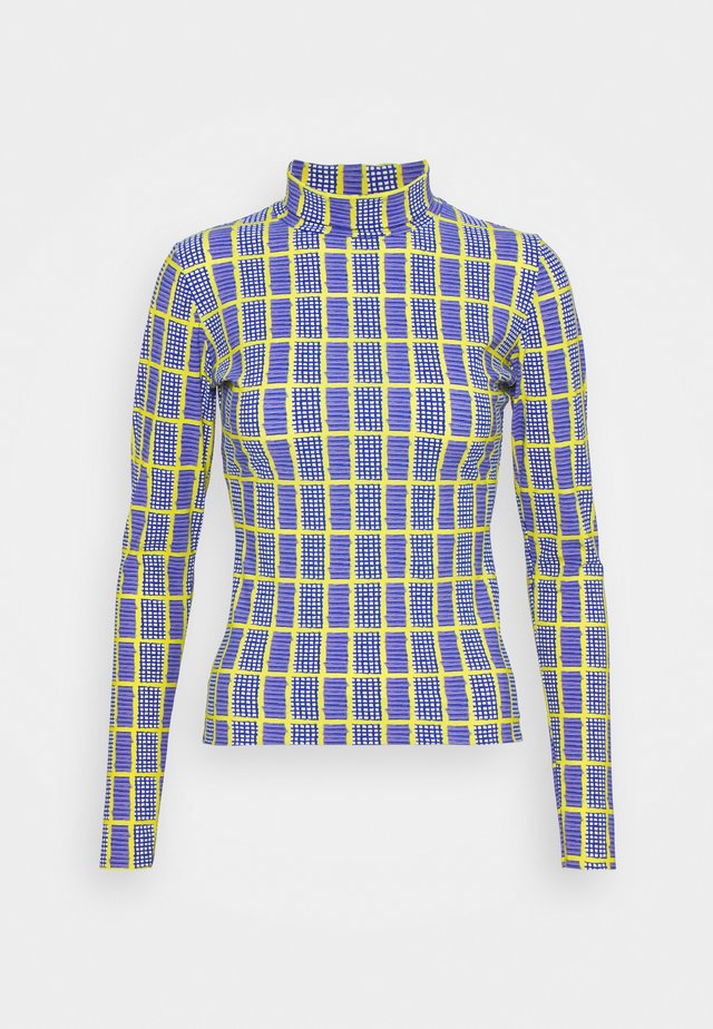 POLLEN - Long sleeved top - blue