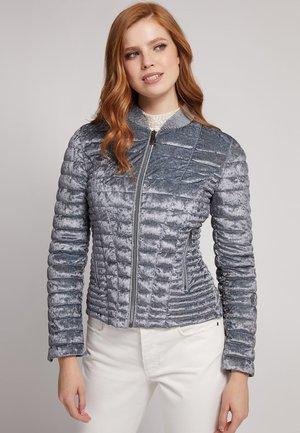 Gewatteerde jas - grau