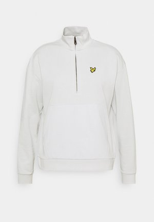 ZIP FUNNEL NECK - Sweatshirt - cloud