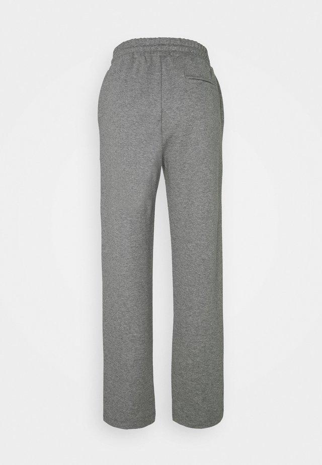 WILMA PANTS - Tracksuit bottoms - dark grey melange