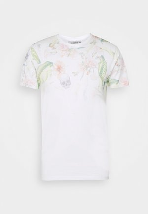 ENDERBY - T-shirt con stampa - off white