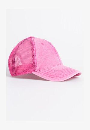 Cap - pink acid wash