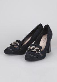 TJ Collection - High heels - dark blue - 2