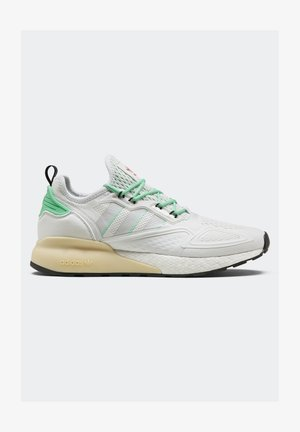 ZX 2K BOOST - Trainers - white/grey/ green