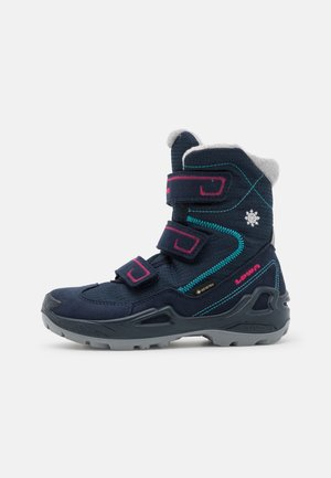 MILO GTX UNISEX - Winter boots - navy/beere