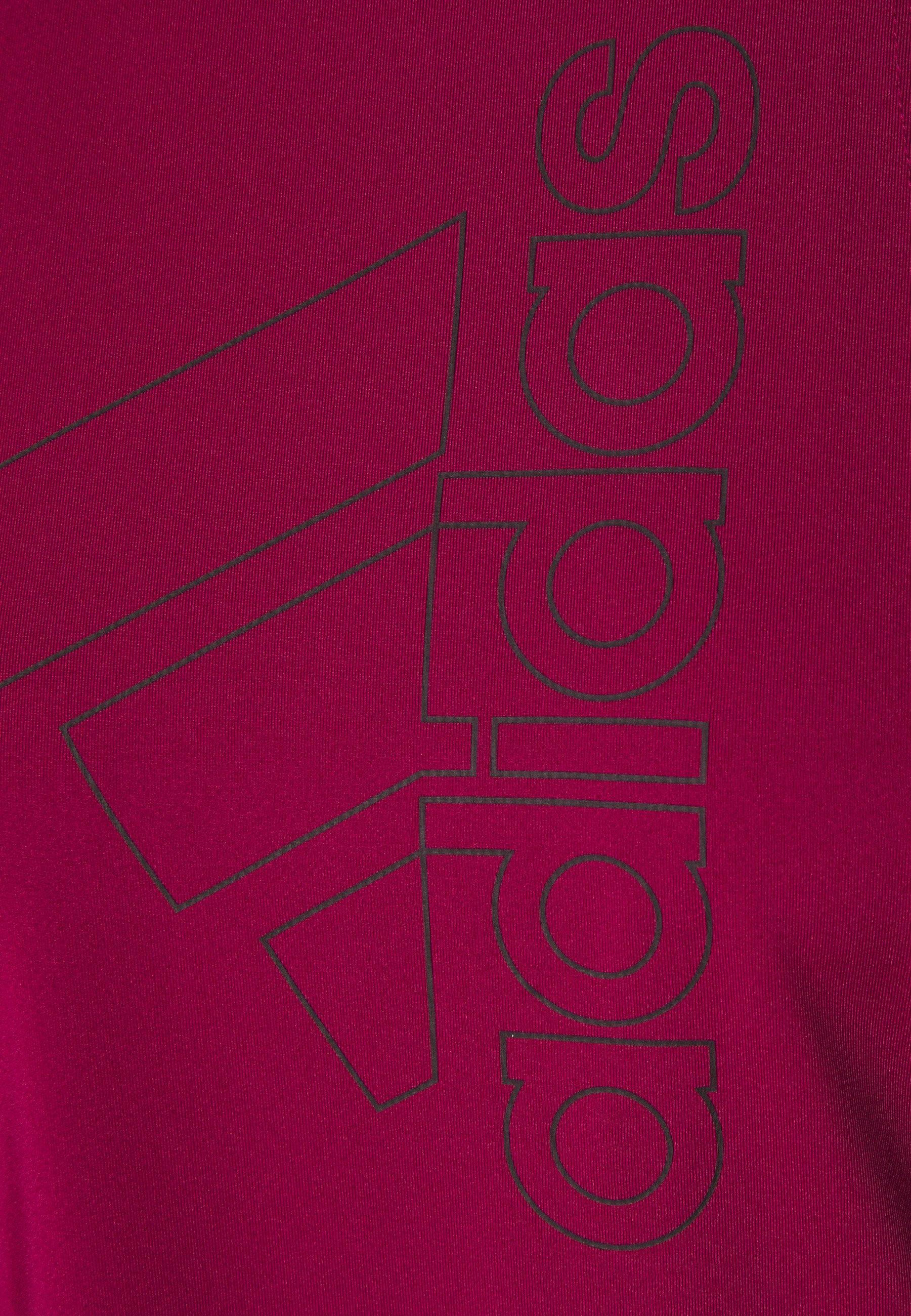 adidas Performance TECH BOS TANK - Sports shirt - berry rXC4m