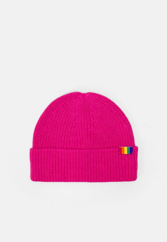 WE ARE ONE BEANIE - Čepice - fushia