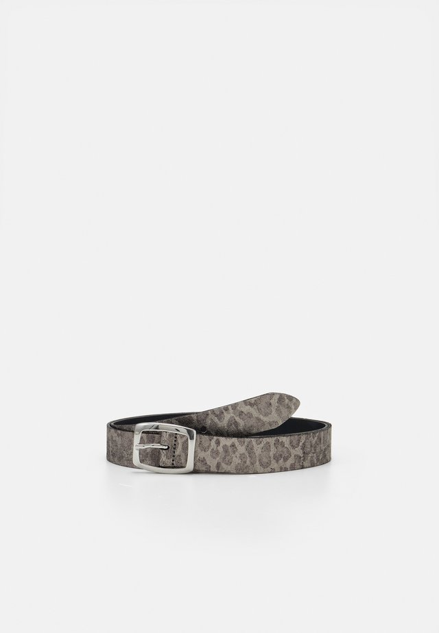 Cinturón - silber-metallic