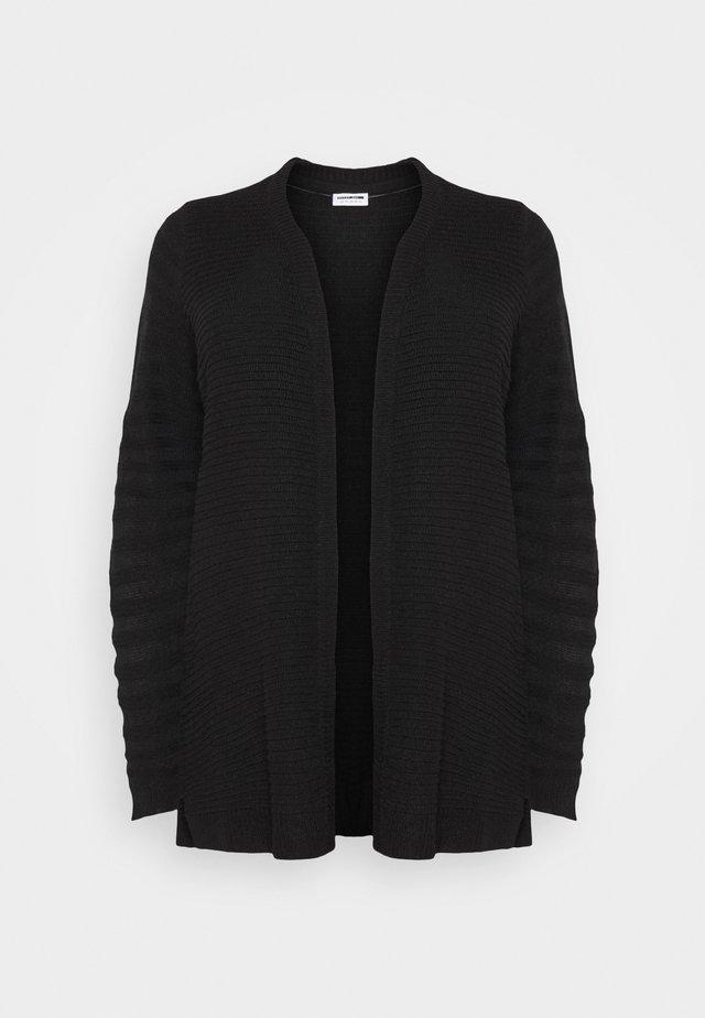 NMCARLY CARDIGAN - Vest - black