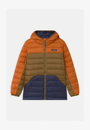 BOYS REVERSIBLE HOODY - Down jacket - desert orange