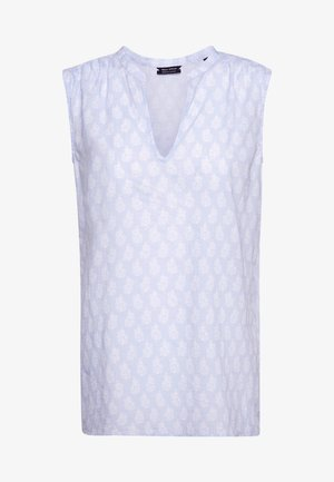 SLEEVELESS - Blůza - multi/light blue