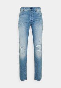 3301 SLIM - Džíny Slim Fit - azure stretch denim