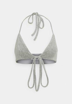 HENNA TOWEL TRIANGLE - Top - grey