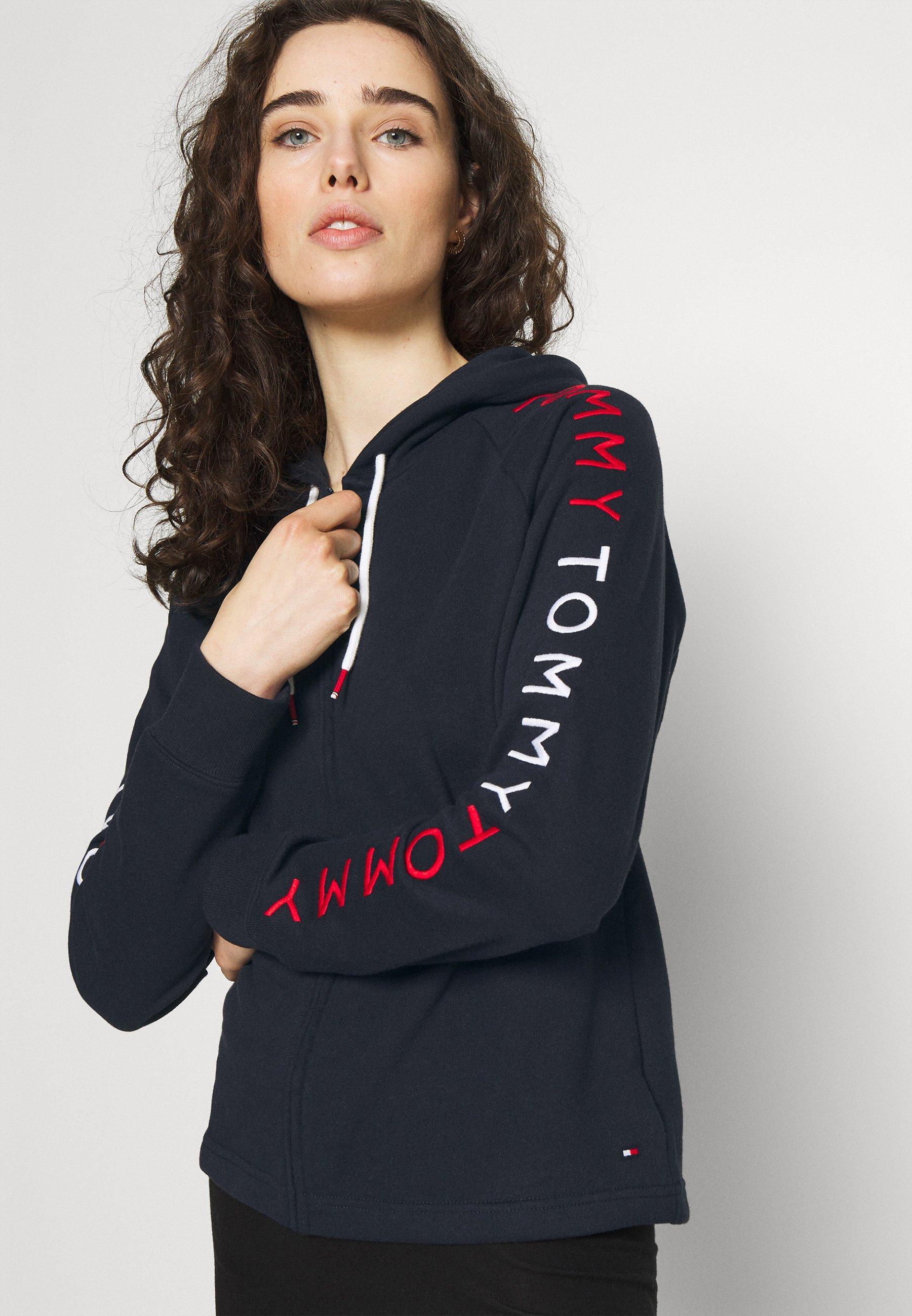 Women EMBROIDERY HOODIE - Pyjama top