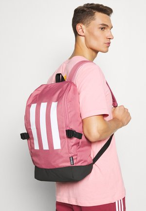 ESSENTIALS 3 STRIPES SPORTS BACKPACK UNISEX - Batoh - tramar/black/white