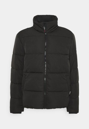SHORT CASUAL PUFFER  - Winterjas - black