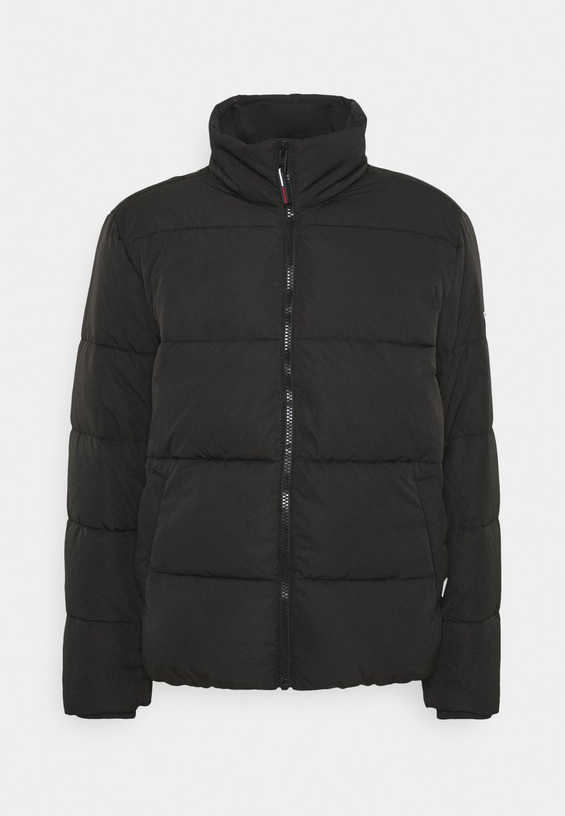 Tommy Jeans - SHORT CASUAL PUFFER  - Winter jacket - black