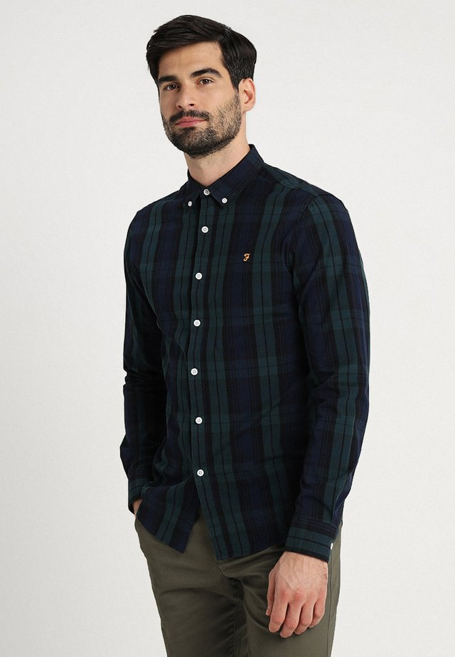 NEW BREWER CHECK - Camisa - true navy