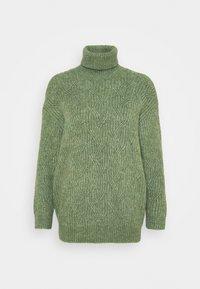 Monki - PARISA - Strikkegenser - khaki green - 4