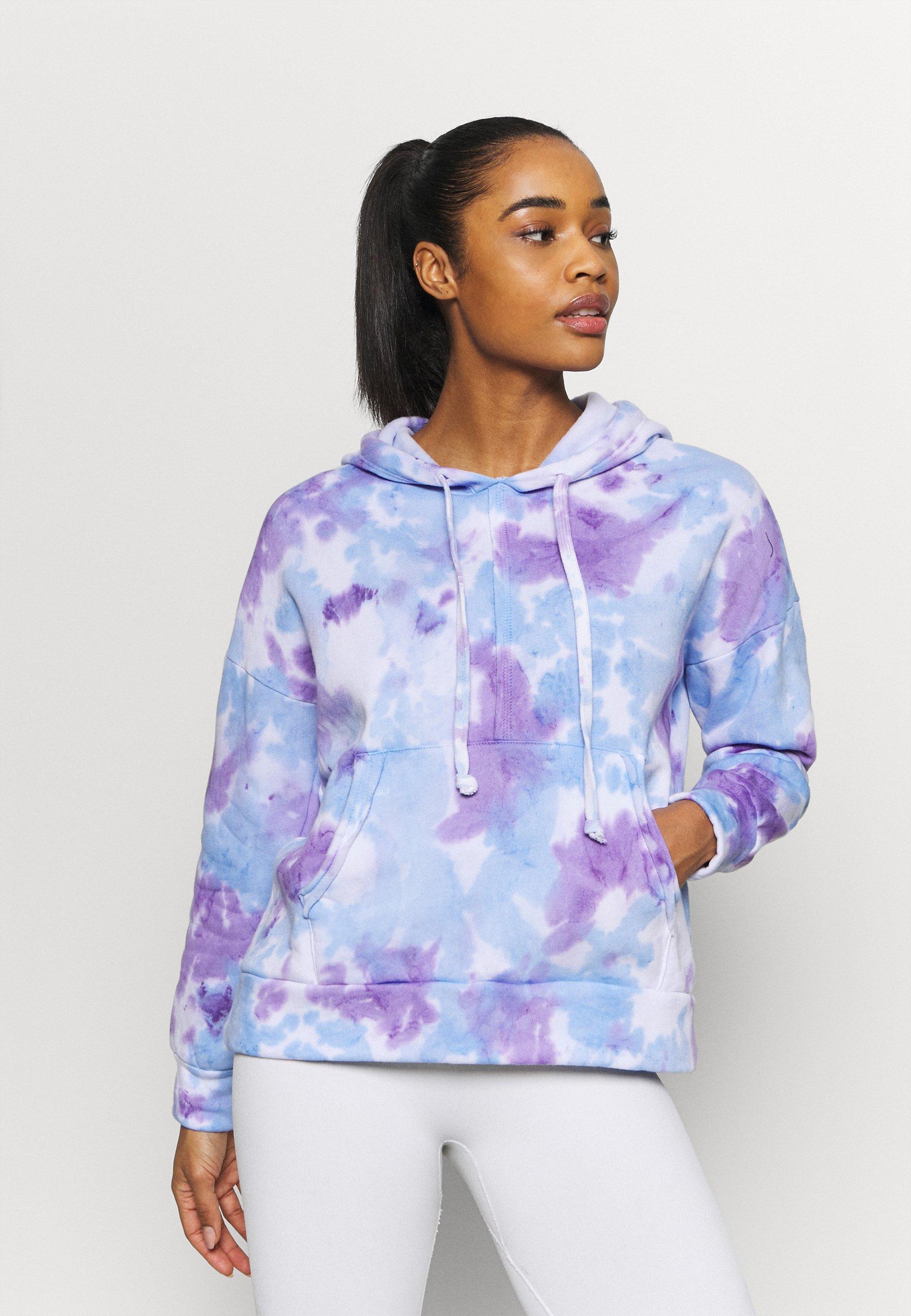Women TIE DYE WORK IT OUT HOODI - Sweatshirt