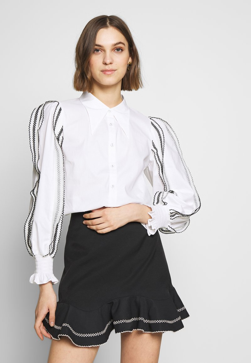 CMEO COLLECTIVE - FOUNDER - Button-down blouse - white