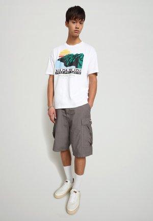 S-ALHOA - T-shirt imprimé - white graph o