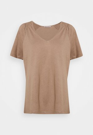 Basic T-shirt - light brown