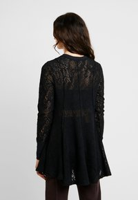 Free People - COFFEE IN THE MORNING - Long sleeved top - black - 2