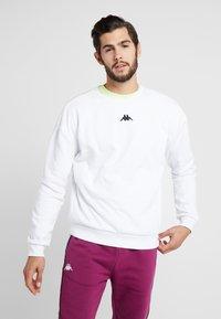 Kappa - VESLANN - Sweatshirt - bright white - 0
