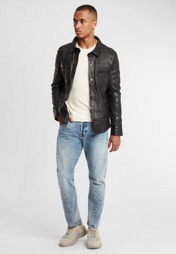 G2BAINIGO SF LABONV - Leather jacket - black