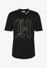 Tommy Hilfiger - UNISEX LEWIS HAMILTON TEE - T-shirt print - black - 5