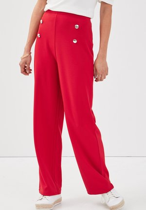 MIT STEG - Trousers - rouge