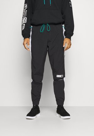PARQUET TRACK - Tracksuit bottoms - black