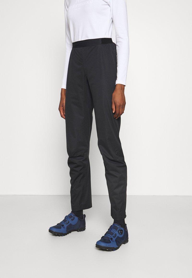 Gore Wear - C5 DAMEN GORE-TEX ACTIVE TRAIL HOSE - Outdoor trousers - black