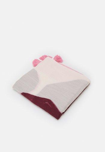 SCARF PANEL - Skjerf - pink