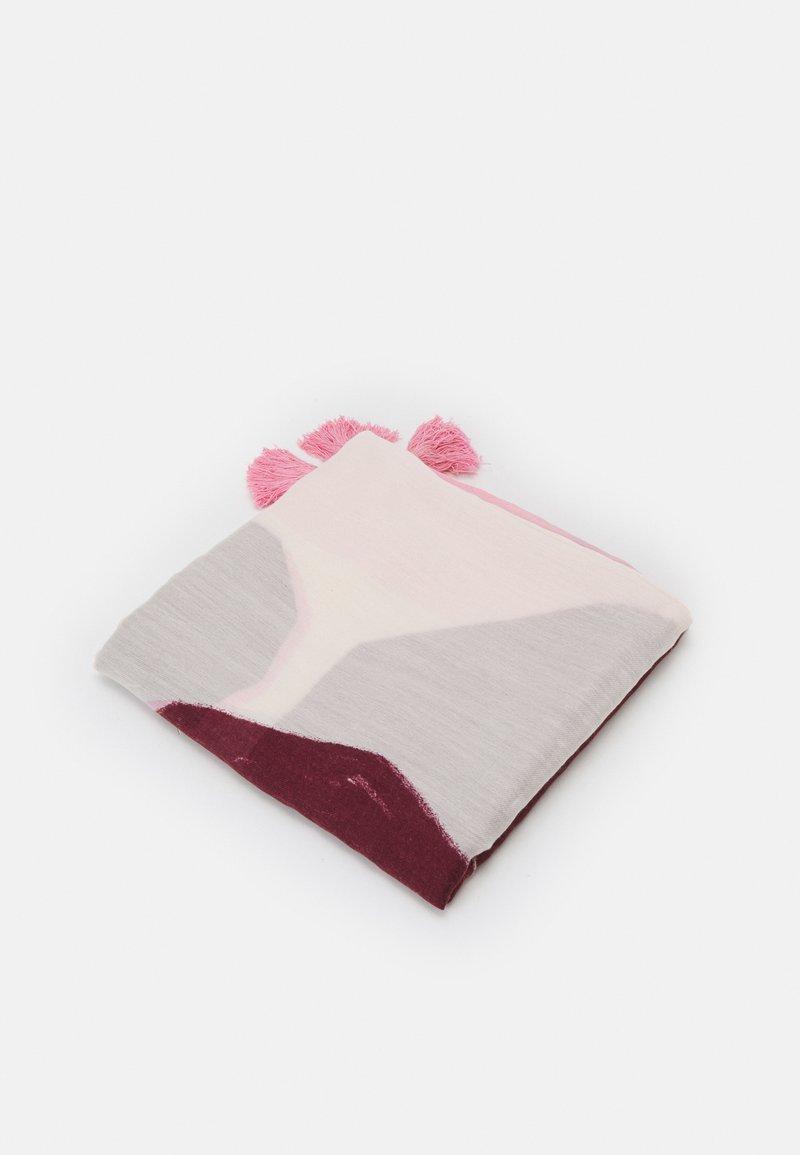 PARFOIS - SCARF PANEL - Scarf - pink