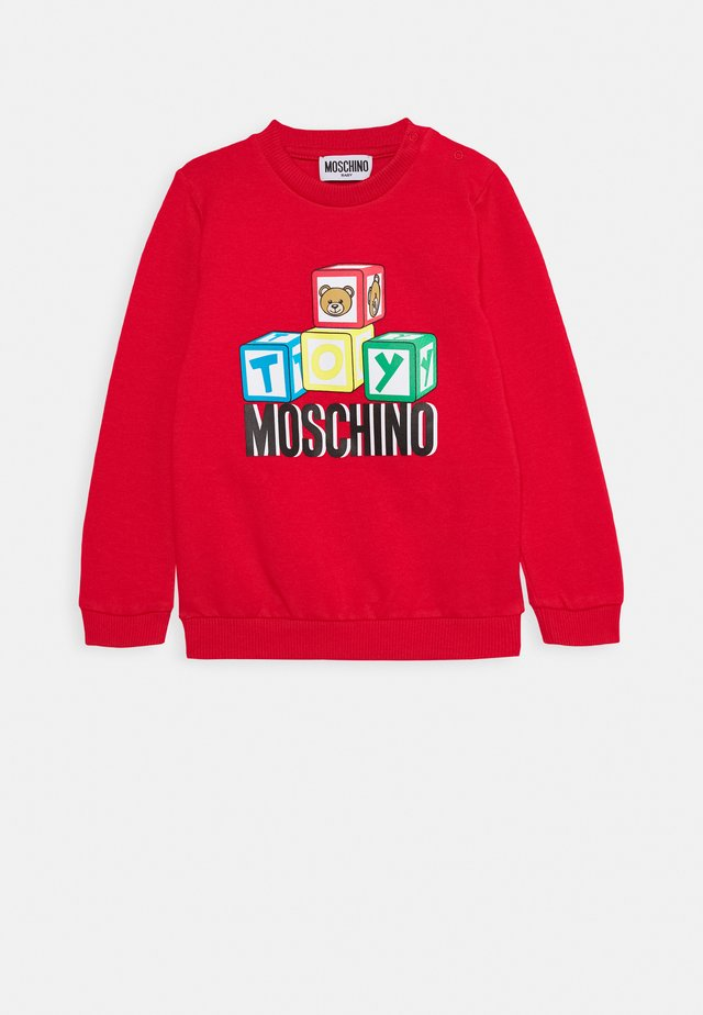 Sweatshirt - poppy red
