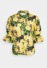 CASSIA - Button-down blouse - yellow