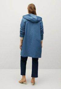 Violeta by Mango - Classic coat - niebieski - 2