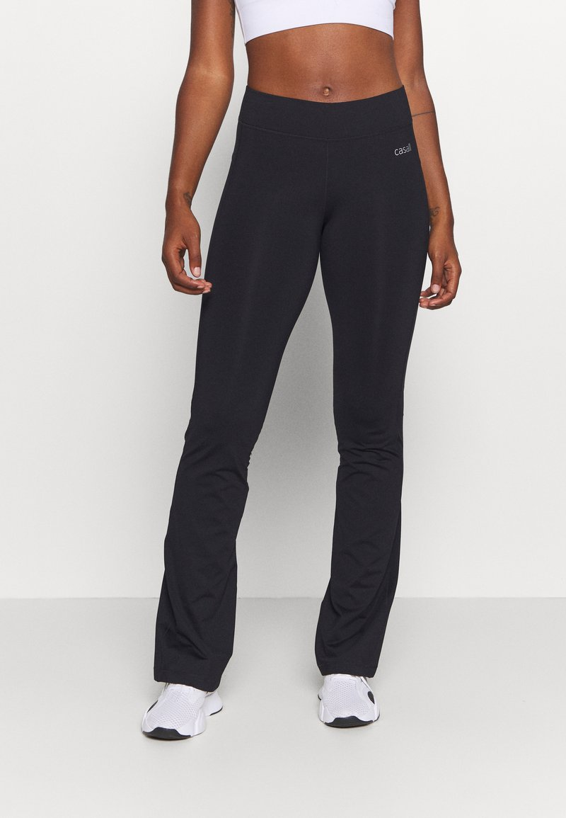 Casall - CLASSIC JAZZ PANTS - Tracksuit bottoms - black