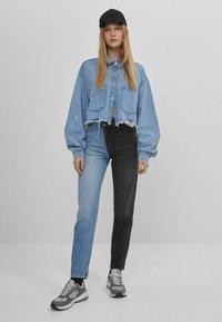 Bershka - Straight leg jeans - blue denim - 1