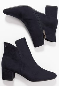 Tamaris - WOMS - Ankle boots - navy - 3