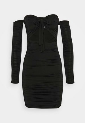 LISBON DRESS - Pouzdrové šaty - black