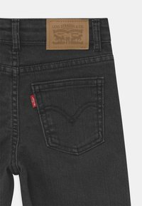 Levi's® - CROPPED WIDE LEG - Jeans baggy - black - 2