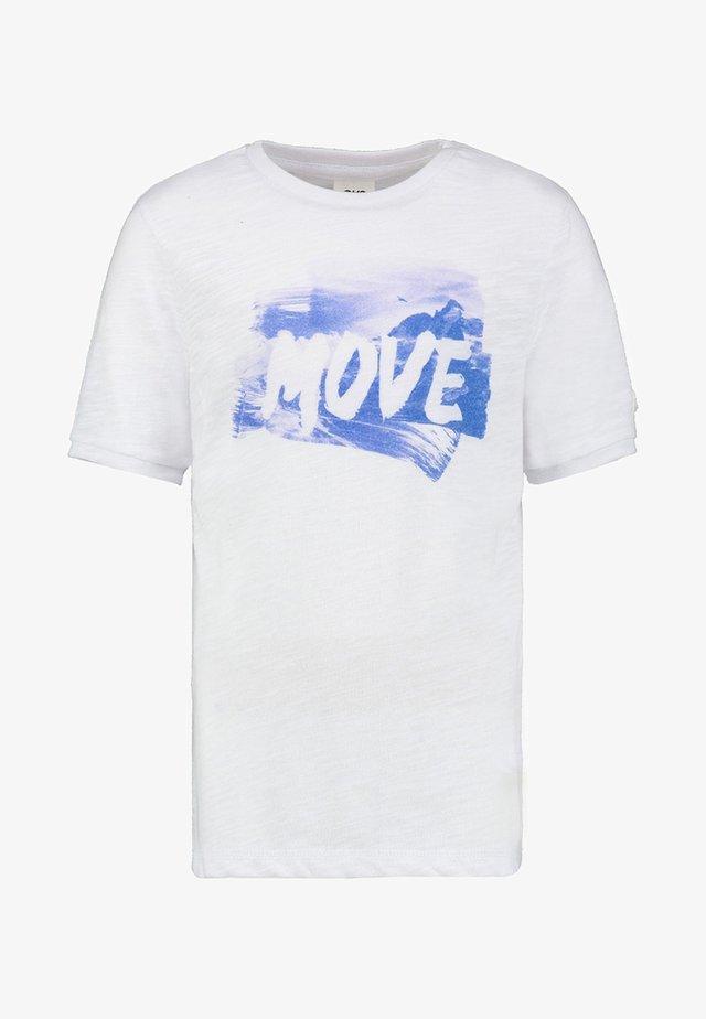 YASEM - Print T-shirt - crispwhite
