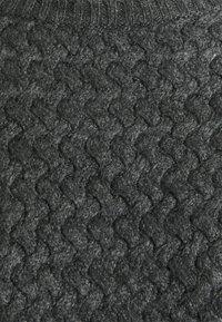 MAMALICIOUS - MLCAB CROPPED - Jumper - dark grey melange - 2