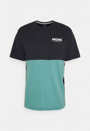 TARN FREERIDE - T-shirt print - iron/sage