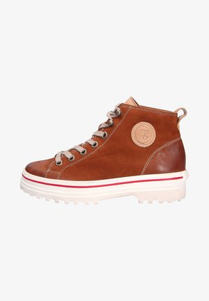 SPORTIVER - High-top trainers - cognacbraun (04)