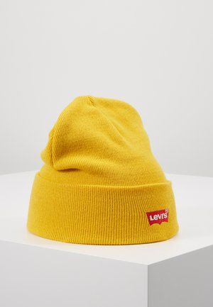 BATWING EMBROIDERED SLOUCHY BEANIE UNISEX - Beanie - regular yellow