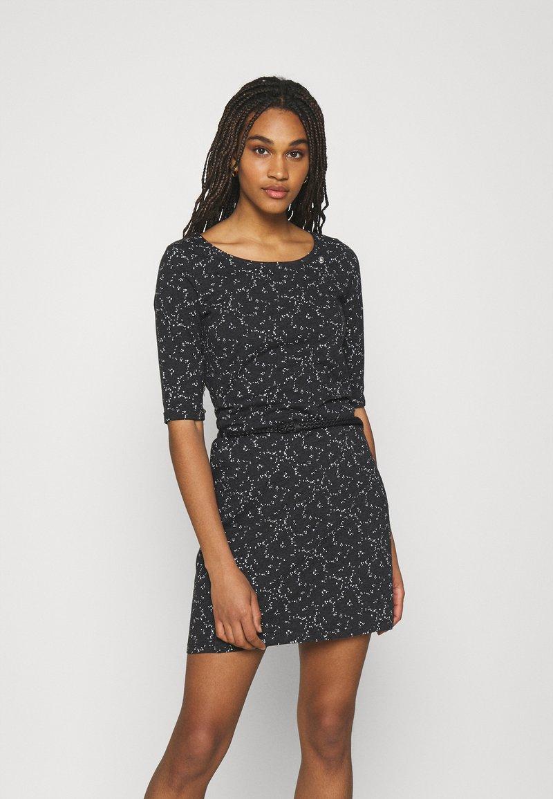 Ragwear - TAMY - Žerzejové šaty - dark grey